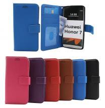 billigamobilskydd.se New Jalusta Lompakkokotelo Huawei Honor 7 (PLK-L01 / PLK-AL10)