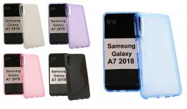 billigamobilskydd.se S-Line TPU-muovikotelo Samsung Galaxy A7 2018 (A750FN/DS)