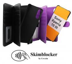 CoverIn Skimblocker XL Magnet Wallet Sony Xperia 10 III (XQ-BT52)