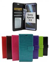 billigamobilskydd.se Crazy Horse Lompakko Sony Xperia 5 II (XQ-AS52)