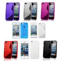 billigamobilskydd.se S-Line TPU-muovikotelo iPhone 5C