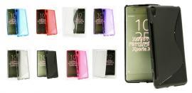 billigamobilskydd.se S-Line TPU-muovikotelo Sony Xperia XA (F3111)