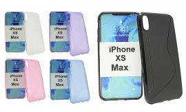 billigamobilskydd.se S-Line TPU-muovikotelo iPhone Xs Max