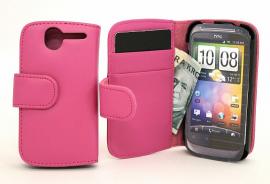 CoverIn Lompakkokotelot HTC Desire, Hotpink