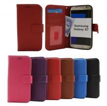 billigamobilskydd.se New Jalusta Lompakkokotelo Samsung Galaxy S7 (G930F)