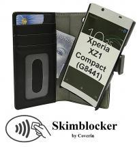CoverIn Skimblocker Magneettikotelo Sony Xperia XZ1 Compact (G8441)