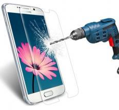 billigamobilskydd.se Näytönsuoja karkaistusta lasista Samsung Galaxy S7 (G930F)