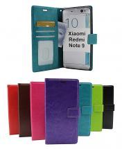 billigamobilskydd.se Crazy Horse Lompakko Xiaomi Redmi Note 9