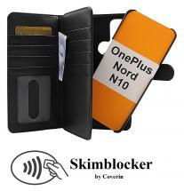 CoverIn Skimblocker XL Magnet Wallet OnePlus Nord N10
