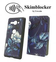 billigamobilskydd.se Skimblocker Design Magneettilompakko Sony Xperia XZ2 Compact (H8324)