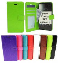 billigamobilskydd.se Crazy Horse Lompakko Sony Xperia XZ2 Compact (H8324)