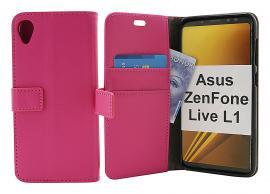 billigamobilskydd.se Jalusta Lompakkokotelo Asus ZenFone Live L1 (ZA550KL)