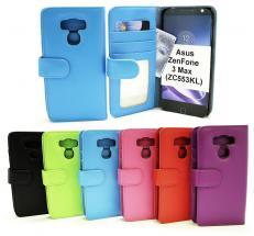 billigamobilskydd.se Lompakkokotelot Asus ZenFone 3 Max (ZC553KL)