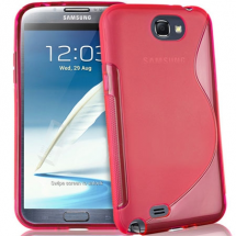 billigamobilskydd.se S-Line TPU-muovikotelo Samsung Galaxy Note 2