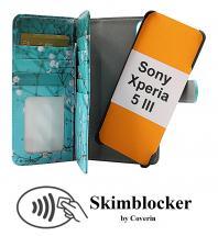 CoverIn Skimblocker XL Magnet Designwallet Sony Xperia 5 III (XQ-BQ52)