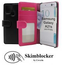 CoverIn Skimblocker Lompakkokotelot Samsung Galaxy A21s (A217F/DS)