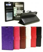billigamobilskydd.se Crazy Horse Lompakko Sony Xperia E5 (F3311)