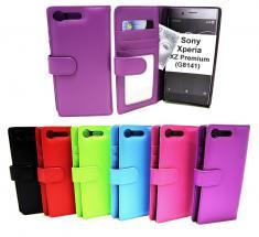 billigamobilskydd.se Lompakkokotelot Sony Xperia XZ Premium (G8141)