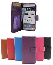 billigamobilskydd.se New Jalusta Lompakkokotelo iPhone SE (2nd Generation)