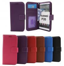 billigamobilskydd.se New Jalusta Lompakkokotelo Huawei P20 (EML-L29)