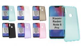 billigamobilskydd.se TPU-suojakuoret Xiaomi Redmi Note 6 Pro