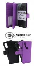 CoverIn Skimblocker XL Magnet Wallet Motorola One Vision