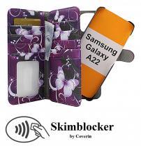 CoverIn Skimblocker XL Magnet Designwallet Samsung Galaxy A22 (SM-A225F/DS)