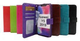 billigamobilskydd.se Crazy Horse Lompakko Huawei Y5 2019