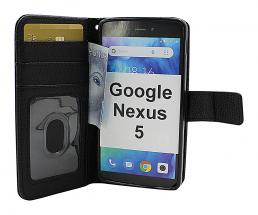 billigamobilskydd.se New Jalusta Lompakkokotelo Google Nexus 5 (E980/D821)