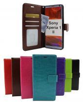 billigamobilskydd.se Crazy Horse Lompakko Sony Xperia 1 II (XQ-AT51)