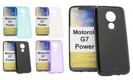 billigamobilskydd.se TPU-suojakuoret Motorola Moto G7 Power