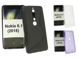 billigamobilskydd.se S-Line TPU-muovikotelo Nokia 6 (2018)