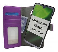 CoverIn Skimblocker Magneettikotelo Motorola Moto G7 / Moto G7 Plus