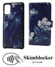 CoverIn Skimblocker Design Magneettilompakko Samsung Galaxy A41