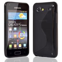 billigamobilskydd.se S-Line TPU-muovikotelo Samsung Galaxy S Advance