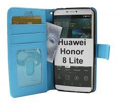 billigamobilskydd.se New Jalusta Lompakkokotelo Huawei Honor 8 Lite (PRA-LX1)