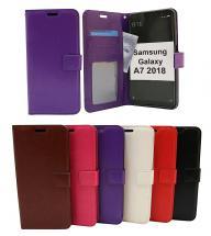 billigamobilskydd.se Crazy Horse Lompakko Samsung Galaxy A7 2018 (A750FN/DS)