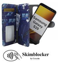 CoverIn Skimblocker XL Magnet Designwallet Samsung Galaxy S20 (G980F)
