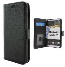 billigamobilskydd.se New Jalusta Lompakkokotelo Huawei Ascend Mate 7
