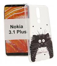 billigamobilskydd.se TPU-Designkotelo Nokia 3.1 Plus