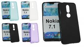 billigamobilskydd.se TPU-suojakuoret Nokia 7.1