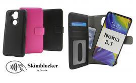 billigamobilskydd.se Skimblocker Magneettikotelo Nokia 8.1