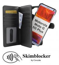 CoverIn Skimblocker XL Magnet Wallet Motorola Moto G 5G Plus