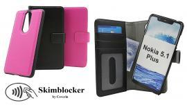 billigamobilskydd.se Skimblocker Magneettikotelo Nokia 5.1 Plus