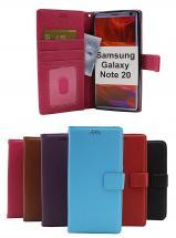 billigamobilskydd.se New Jalusta Lompakkokotelo Samsung Galaxy Note 20 5G (N981B/DS)