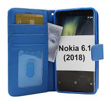 billigamobilskydd.se New Jalusta Lompakkokotelo Nokia 6 (2018) / Nokia 6.1 (2018)