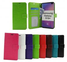 billigamobilskydd.se Crazy Horse Lompakko Samsung Galaxy S10+ (G975F)