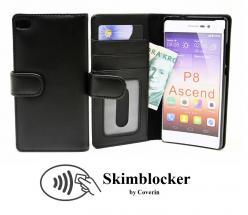 billigamobilskydd.se Skimblocker Lompakkokotelot Huawei P8 (GRA-L09)