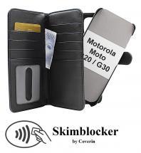 CoverIn Skimblocker XL Magnet Wallet Motorola Moto G20 / Moto G30