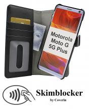 CoverIn Skimblocker Magneettikotelo Motorola Moto G 5G Plus